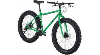 Surly Pugsley 26 Fatbike bici completa tamaño L grassy verde Mod. 2016