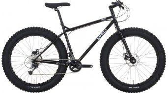 Surly Pugsley 26 Fatbike vélo taille XS black Mod. 2017