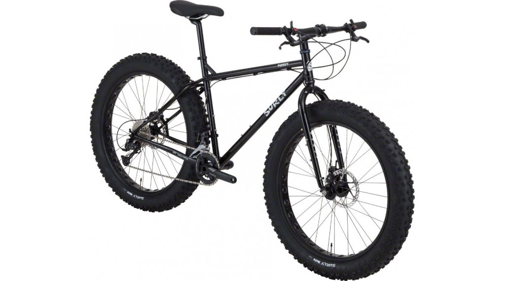 Surly Pugsley 26 Fatbike Komplettbike Gr. XS black Mod. 2017