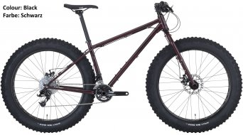 Surly Wednesday 26 Fatbike komplett kerékpár trevors closzett black 2018 Modell
