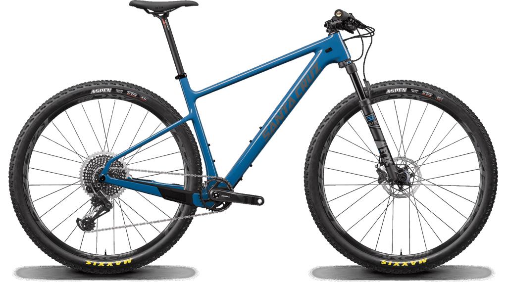 """Santa Cruz Highball 3 CC 29"""" MTB Komplettrad X01-Kit Gr. S wc blue Mod. 2020"""