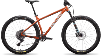 Santa Cruz Chameleon 7 AL 27.5+ Komplettrad S-Kit orange Mod. 2019