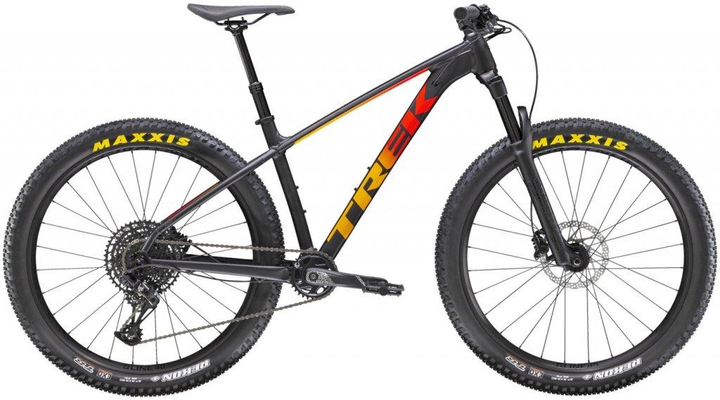 Trek Roscoe 8 27.5 MTB Komplettrad Gr. L matte black/red/marigold fade Mod. 2021