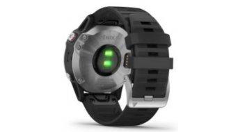 Garmin fenix 6 GPS Multisportuhr schwarz/silber