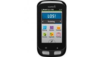 Garmin Edge 1000 Bundle Performance Segmente GPS Bikecomputer (včetně Preminum-tepová frekvencepásek, rychlost- a frekvence šlapání sensor ) černá