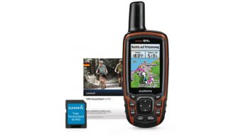 Garmin GPSmap 64s + Trans Alpin V4 PRO Bundle microSD 2014