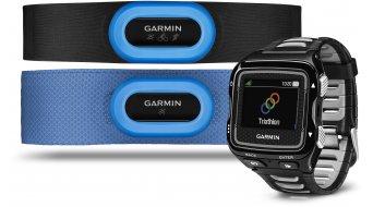 Garmin Forerunner 920XT GPS-Multisportuhr Triathlon Bundle negro(-a)/color plata