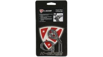 K-Edge Garmin Edge Computer Lenkerhalterung gunmetal (für Edge 200/500/510/800/810)