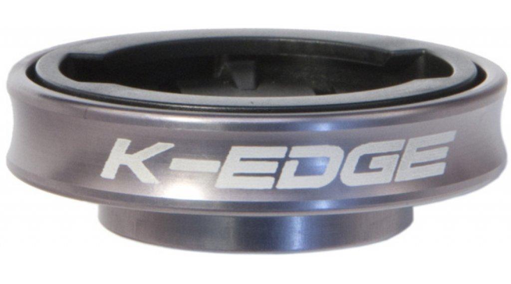 """K-Edge K13-550 Garmin Gravity Cap Mount soporte de potencias 1 1/8"""" gunmetal"""