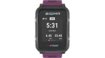 Sigma Sport iD.FREE GPS Multisport-reloj plum- MODELO DE DEMONSTRACIÓN- LADEN AUSSTELLUNGSSTÜCK
