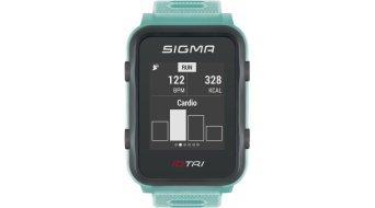 Sigma Sport iD.TRI GPS 铁人三项-Uhr Set neon mint