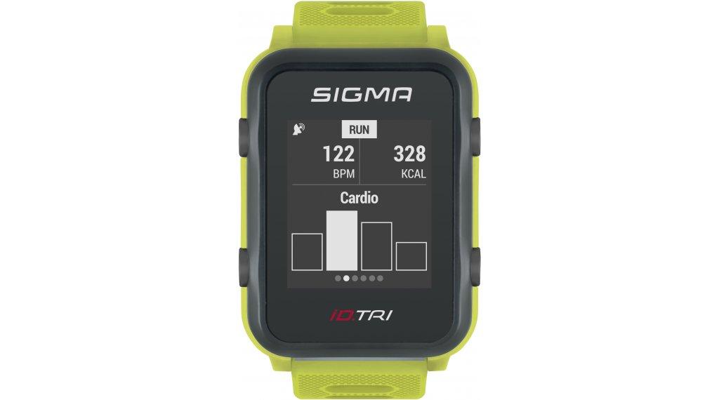 Sigma Sport iD.TRI GPS 铁人三项-Uhr Basic neon green