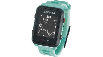 Sigma Sport iD.TRI GPS 铁人三项-Uhr Basic neon mint