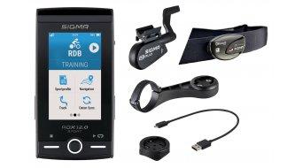 Sigma Sport ROX 12.0 Sport 4GB GPS Fahrradcomputer SET gray
