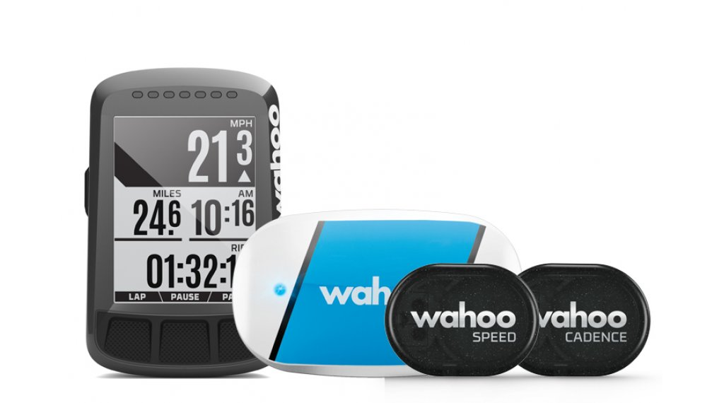 Wahoo ELEMNT BOLT GPS Bundle mit Sensoren TICKR, RPM Speed & Cadence