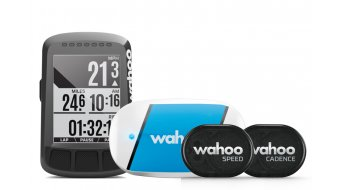 Wahoo ELEMNT BOLT GPS Bundle con Sensoren TICKR, RPM Speed & Cadence