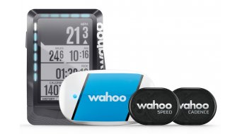 Wahoo ELEMNT GPS Bundle con Sensoren TICKR, RPM Speed & Cadence