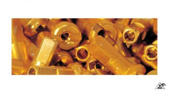 DT cabecilla(-s) de aluminio 2.0mm 2.0x12mm dorado(-a)