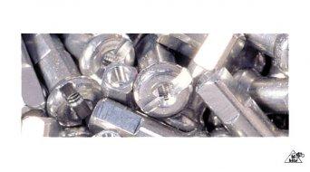 DT cabecilla(-s) de aluminio 2.0mm 2.0x12mm color plata