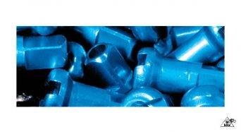 DT écrou en alu 1,8x12mm turquoise