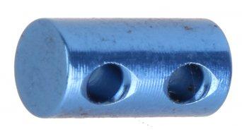 CrankBrothers Speichen-Pin 5.95mm 2-Loch blue