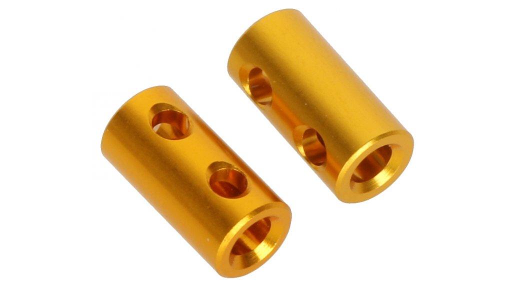 CrankBrothers Speichen-Pin 5.95mm 3-Loch gold