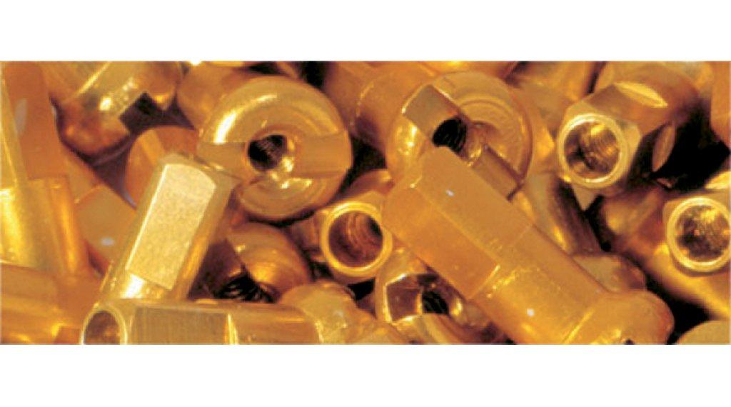 DT cabecilla(-s) de aluminio 2.0mm 2.0x12mm dorado