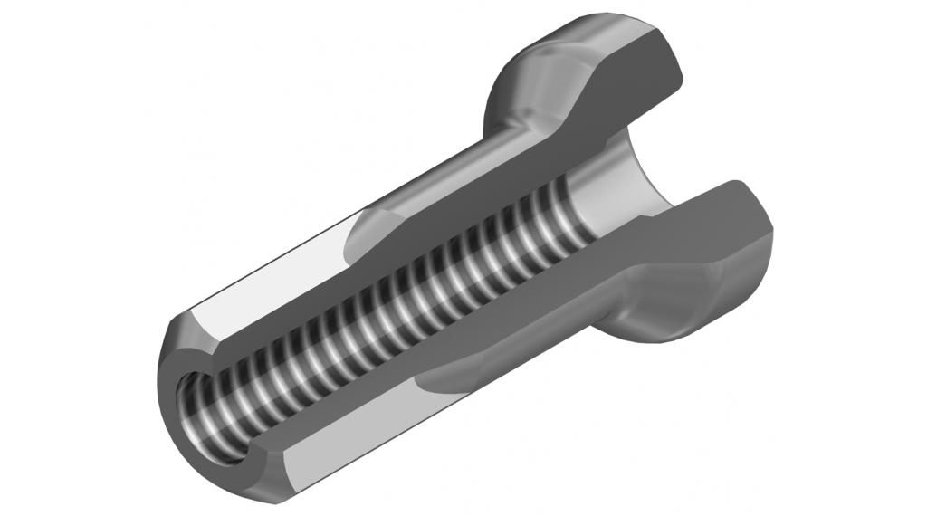 DT Pro Lock Hidden Alunippel 2.0mm 2.0x12mm silber
