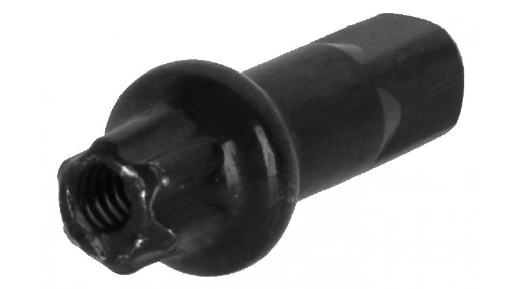 DT Swiss Squorx Pro Head Messing Nippel 2.0x15mm schwarz