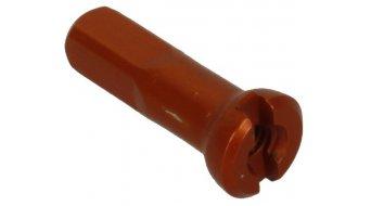 Sapim Polyax Aluminium Nippel 2.0x14mm orange