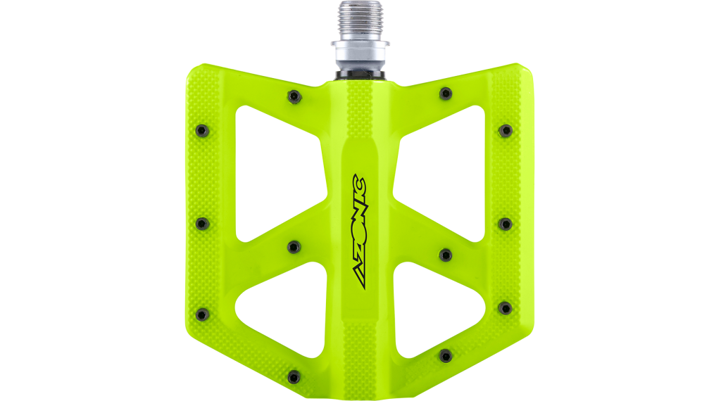 Azonic Kamikaze RL Plattform-Pedale Flatpedal Gr. unisize neon yellow