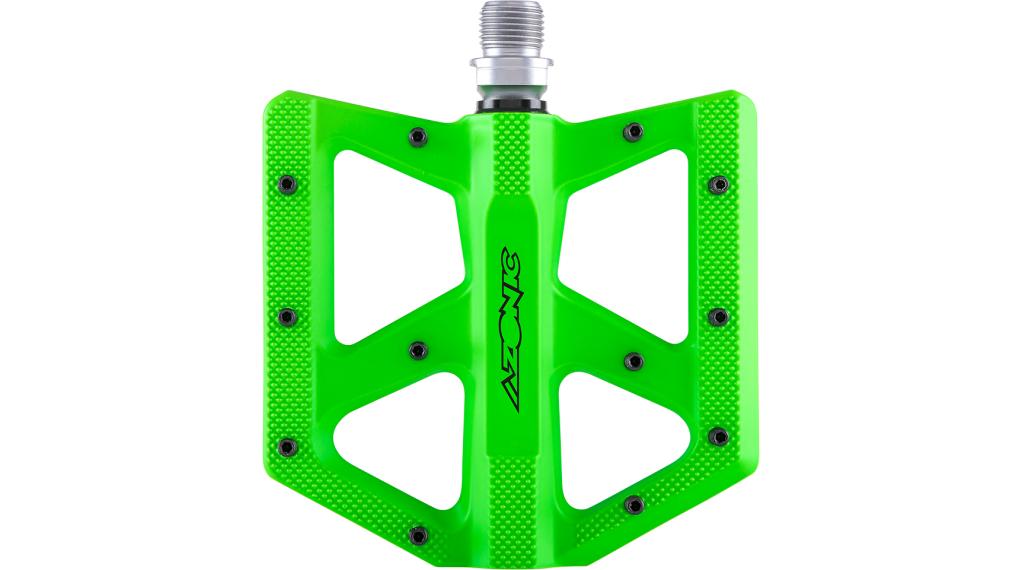 Azonic Kamikaze RL Plattform-Pedale Flatpedal Gr. unisize neon green