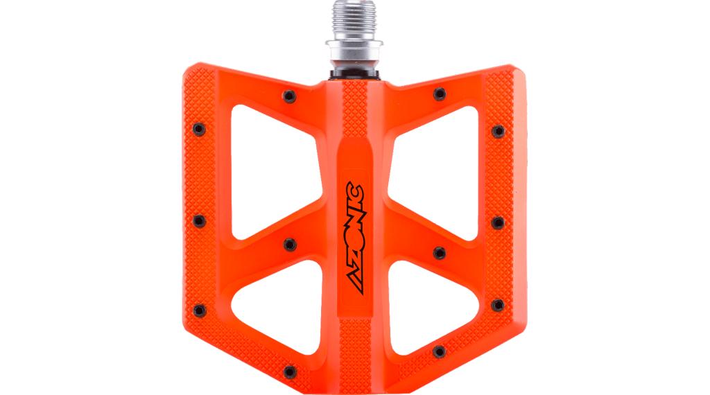 Azonic Kamikaze RL Plattform-Pedale Flatpedal Gr. unisize neon orange
