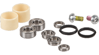 Azonic Central Axle Instruction Combo-Set für Wicked RL-Pedale