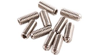 Azonic Steel A-Pins Ersatzpins M4x10mm (10 Stück) silver