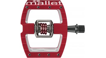 Crank Brothers Mallet DH Race Klick-Pedale rot Mod. 2017