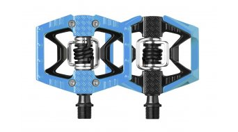 Crank Brothers Double Shot Plattform-/clipless pedals black/blue 2018- Limited Edition