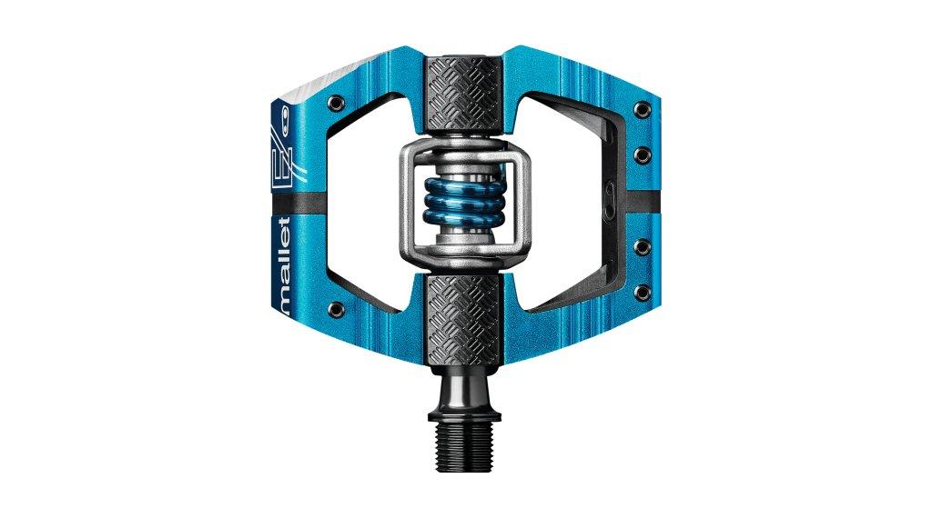 CrankBrothers Mallet Enduro Klick-Pedale light blue