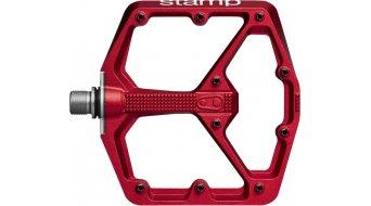 CrankBrothers Stamp 7 Plattform-Pedale Flatpedal Gr. Large red