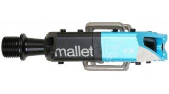 CrankBrothers Mallet Enduro Long Spindle Klick-Pedale black/electric blue
