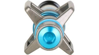 CrankBrothers Eggbeater 3 Klick-Pedale silver/electric blue