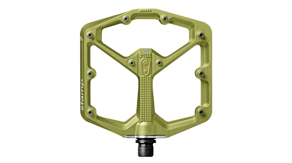 CrankBrothers Stamp 7 Limited Edition Plattform-Pedale Flatpedal Gr. Large green