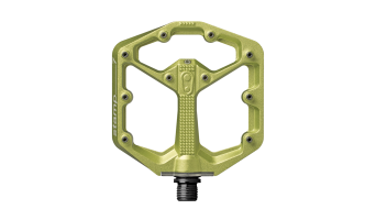 CrankBrothers Stamp 7 Limited Edition Plattform-Pedale Flatpedal Gr. Small green