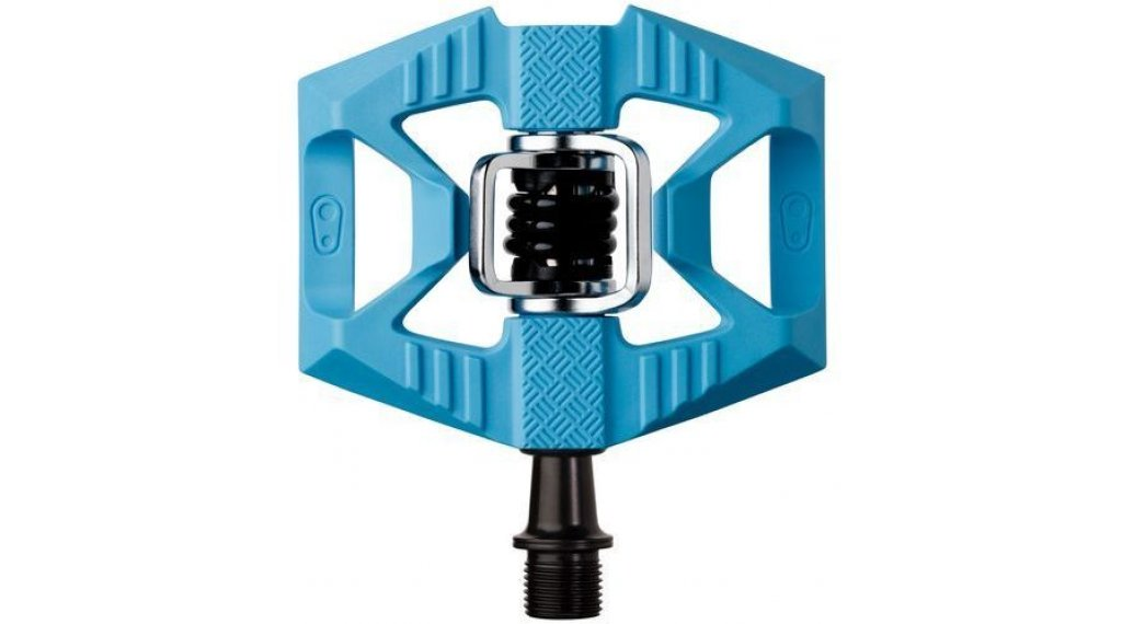 CrankBrothers Double Shot 1 Plattform-/Klick-Pedale blue/black