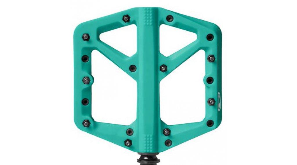 CrankBrothers Stamp 1 Plattform-Pedale Flatpedal Splash Edition Gr. Large turquoise