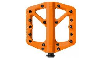 CrankBrothers Stamp 1 Plattform-Pedale Flatpedal Splash Edition Gr. Small orange