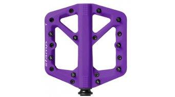 CrankBrothers Stamp 1 Plattform-Pedale Flatpedal Splash Edition Gr. Small purple