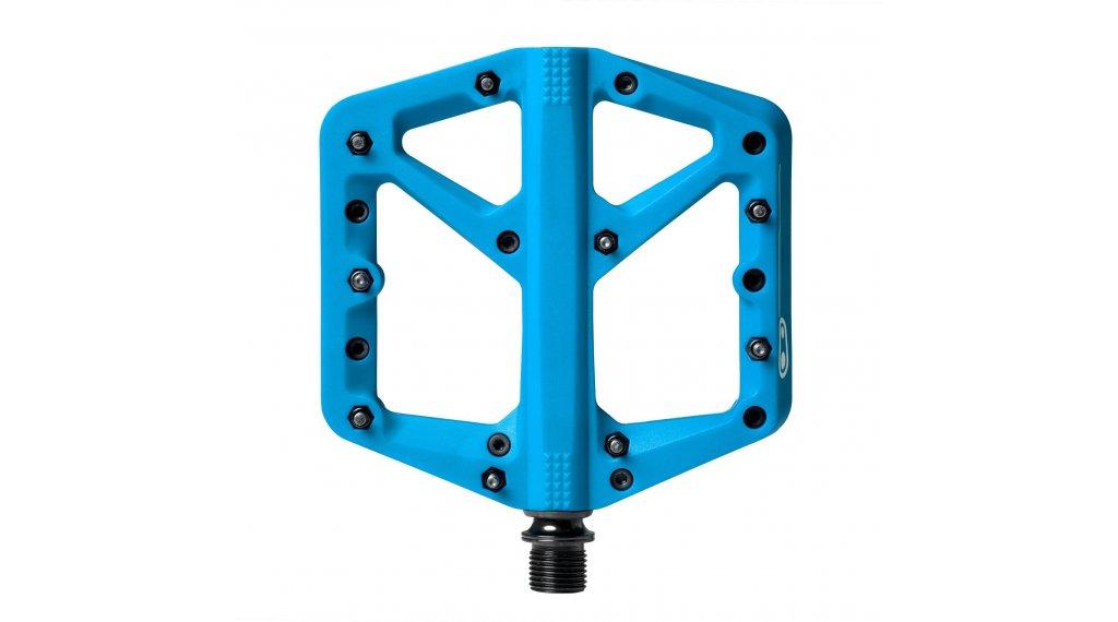 CrankBrothers Stamp 1 Plattform-Pedale Flatpedal Gr. Large blue