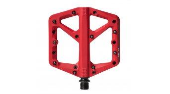 CrankBrothers Stamp 1 Plattform-Pedale Flatpedal Gr. Large red