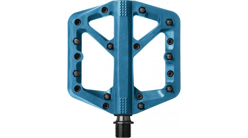 CrankBrothers Stamp 1 Plattform-Pedale Flatpedal Gr. Small blue